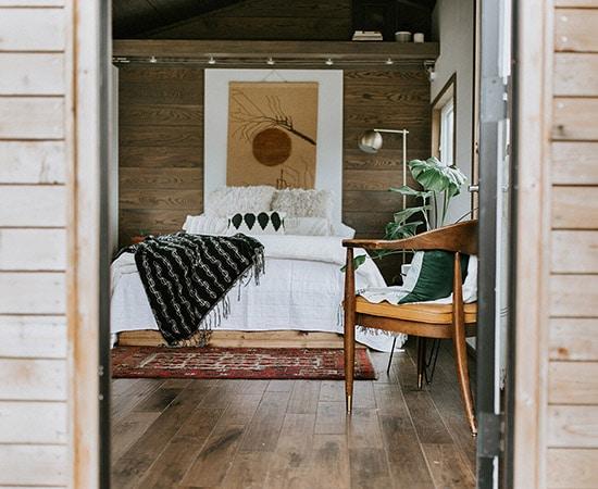 Inside a Wind River Tiny Home