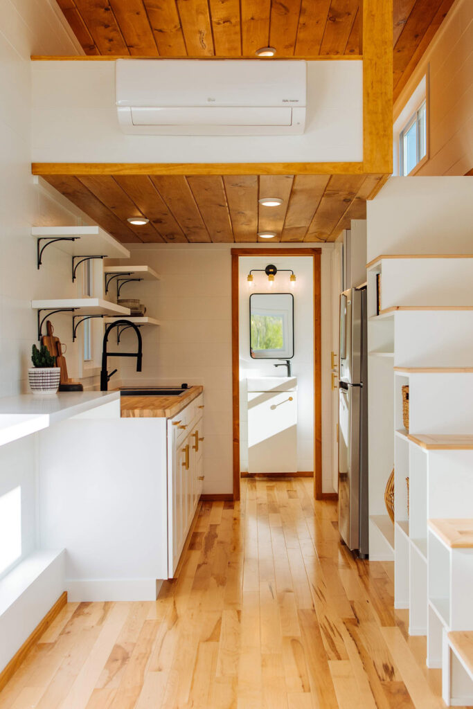 The Ovid Portfolio- loft and stairs view