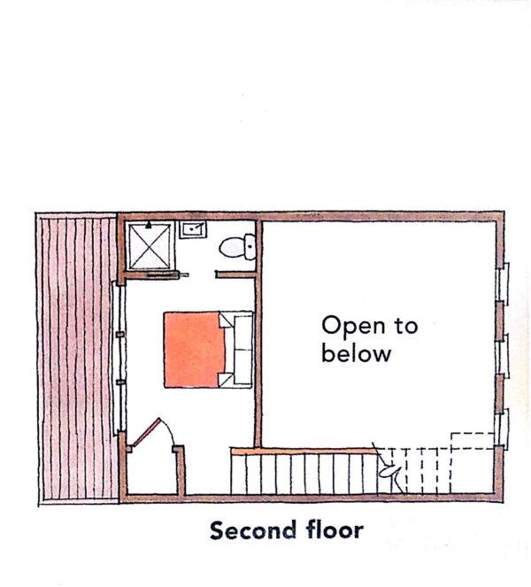 Store- Urban Micro Home Floorplan