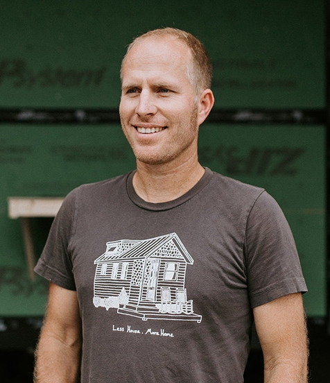 The Team- Caleb Knowles - Wind River Tiny Homes