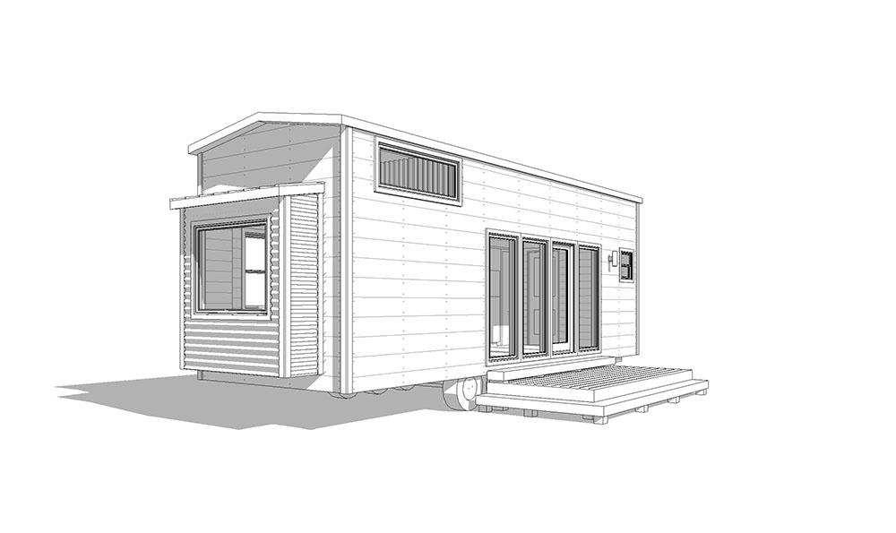 30' Etowah- low-pitch gable, modern