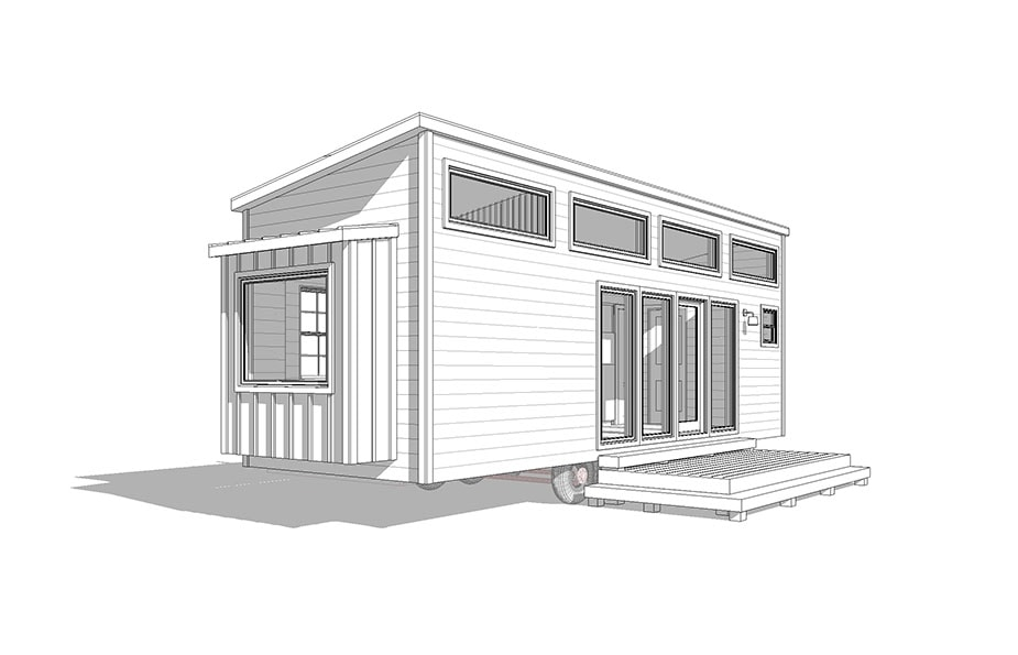 30' Etowah- shed, traditional