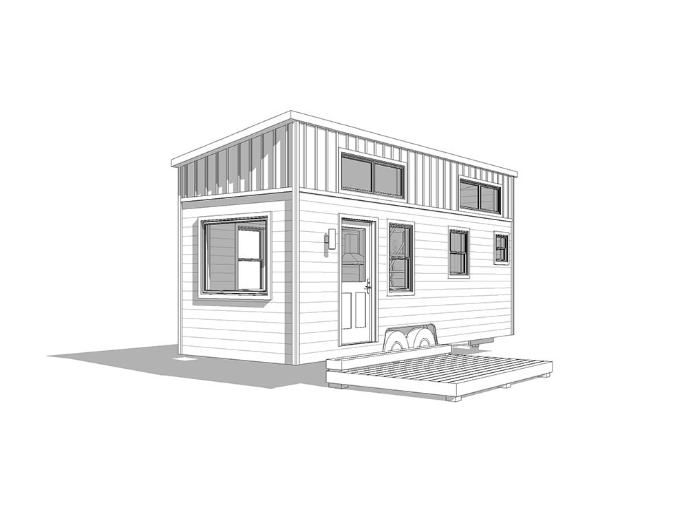 24' Toccoa- shed, traditional