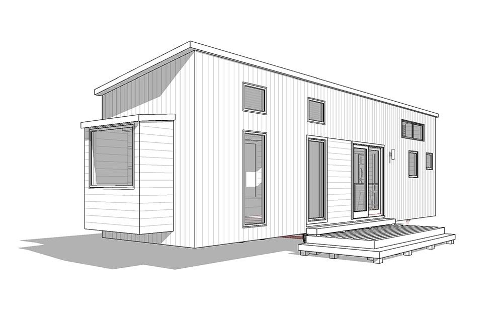 38' Rutledge- shed, modern