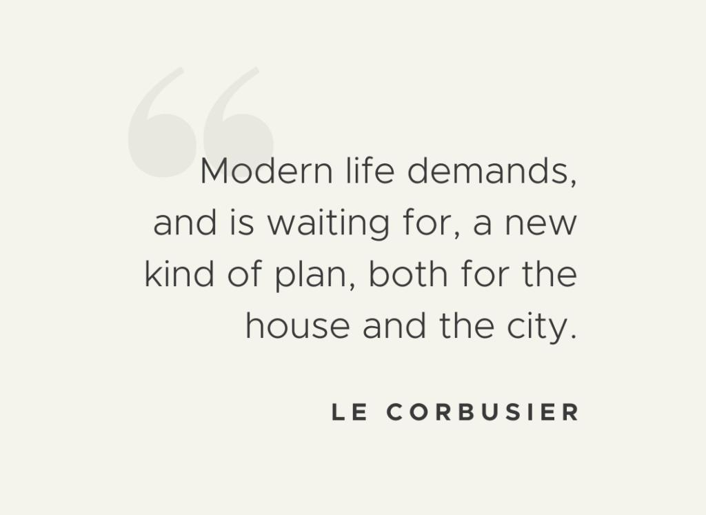 Le Corbusier Quote Ingenity Blog Post
